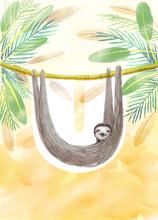 Rocío DEL MORAL - Estampe-Multiple - Animal Alphabet - The letter U    (Cat N° 6194)