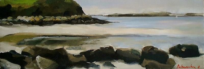 Christoff DEBUSSCHERE - Peinture - Kersaint