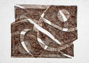 Hermann GLÖCKNER - Stampa-Multiplo - o.T., Blatt 4 der Mappe Handdrucke