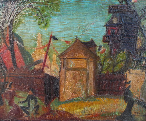 Maurice BLANCHARD - Pintura - Paris