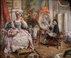 Eduardo Léon GARRIDO - Gemälde - The Painter and his Model