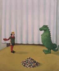 Dragan AZDEJKOVIC - Peinture - Dobro jutro mali prince (Good morning little prince)