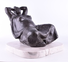 Francisco ZUÑIGA - Sculpture-Volume - La siesta