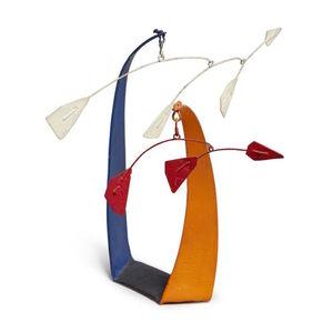 Alexander CALDER - Sculpture-Volume - Red Flags, White Flags
