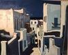 Jean-Claude QUILICI - Painting - Descente dans Mykonos