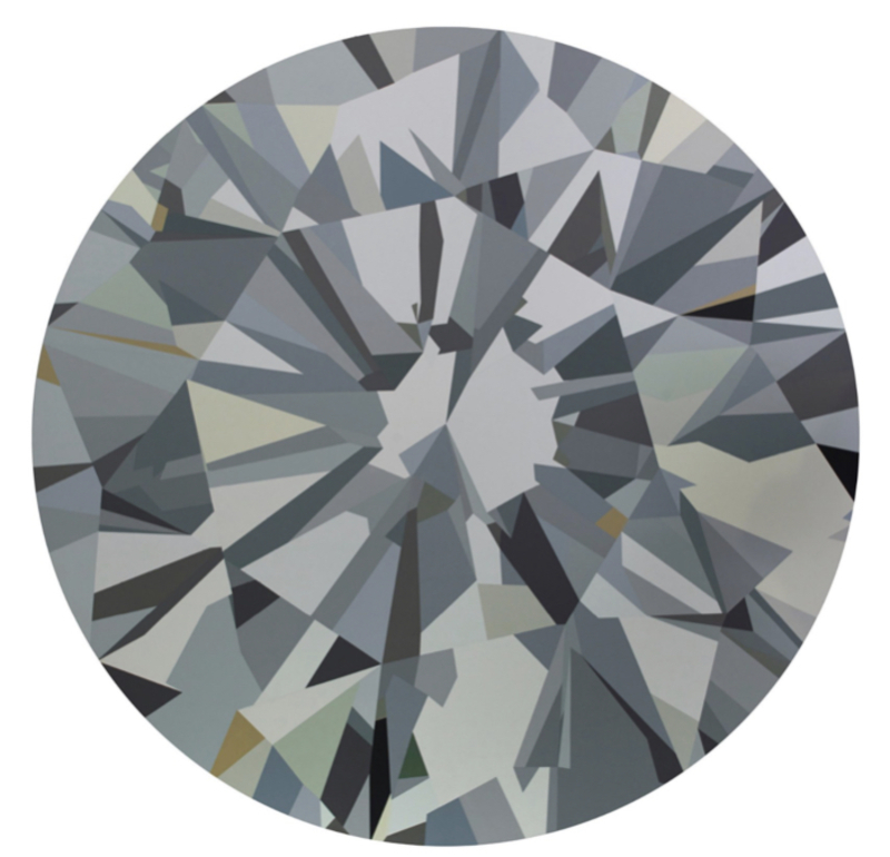 Mathieu MERCIER - Peinture - Diamant