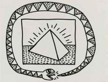 Keith HARING - Peinture - Untitled