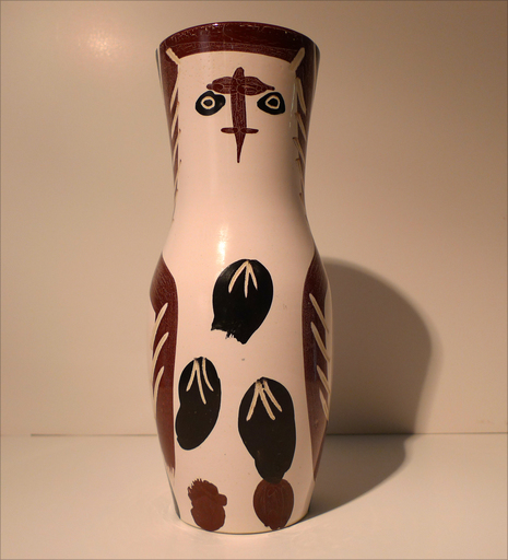 Pablo PICASSO - Keramiken - Chouetton (A.R. 135)