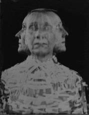 ELIZERMAN - Photography - Mixed emotions /Triple exposure/Selfportrait