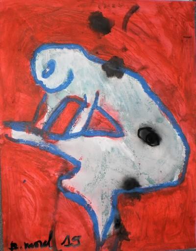 Bernard MOREL - Painting - MODELE