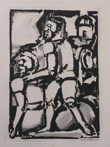 Georges ROUAULT - Print-Multiple - Homme Conduisant me Autre W. 340