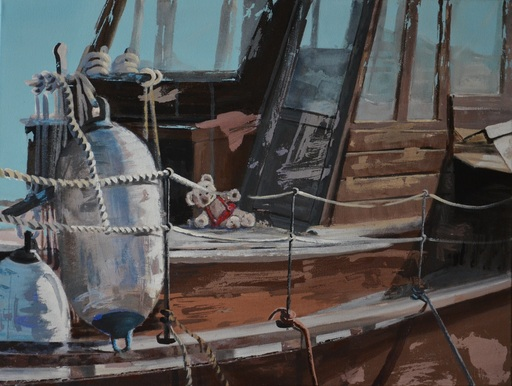 Diana KIROVA - Gemälde - Stand by