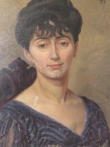 A. ROSAS-MORALES - Pintura - Portrait