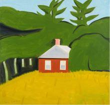 Alex KATZ (1927) - Red House