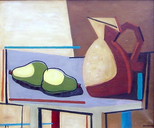 Luis SEOANE LOPEZ - Painting - BODEGON