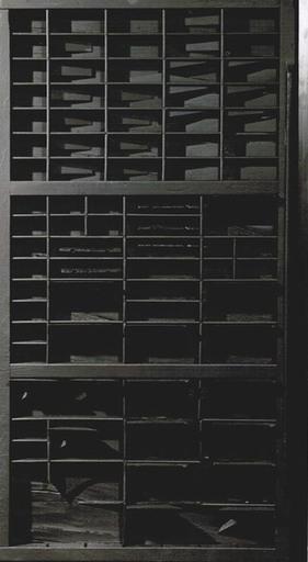 路易斯·内维尔森 - 雕塑 - End of day XXV