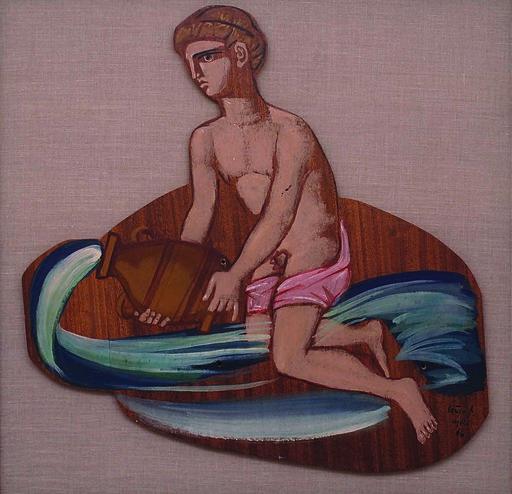 Spyros VASSILIOU - Painting - Dafnos