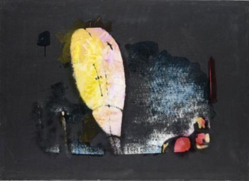 Mario SCHIFANO - Pintura - Omaggio a De Chirico