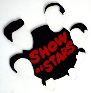 Marco LODOLA - Peinture - Show of stars