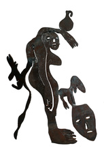 Menashe KADISHMAN - Sculpture-Volume - The Jar Bearer