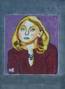 Harry BARTLETT FENNEY - Painting - rachel (2017)