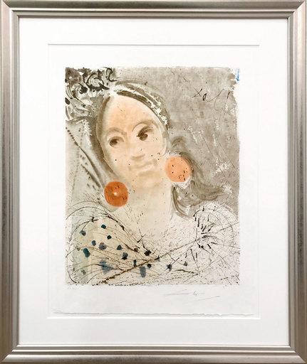 Salvador DALI - Print-Multiple - Carmen