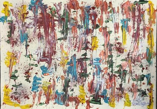 Jérémie REBOURGEARD - Peinture - Désert de couleurs