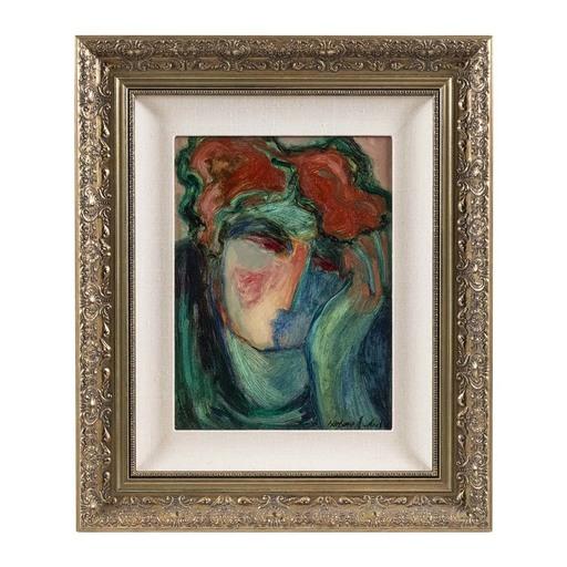Barbara A. WOOD - Pintura - Untitled