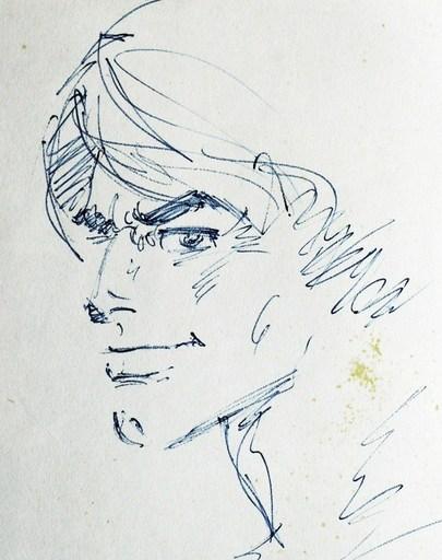 "Édouard AIDANS - Drawing-Watercolor - ""Tounga"" (2 dessins)"