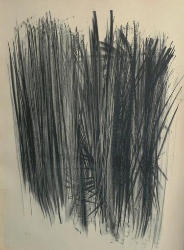 汉斯•哈通 - 版画 - OHNE TITEL