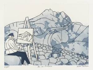 Julian TREVELYAN, Aix-en-Provence