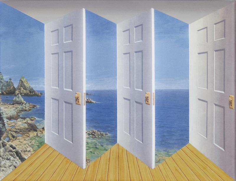 Patrick HUGHES - Print-Multiple - Outdoors