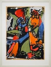 Heinz SCHANZ - Painting - Ohne Titel