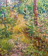 Elena Nilovna YABLONSKAYA - Painting - Home Town