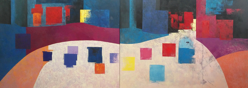 Tomás SUNYOL - Gemälde - La corba del Mos