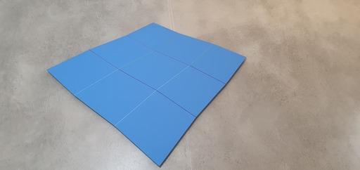 Hans-Jörg GLATTFELDER - Peinture - Grand ondoyant bleu