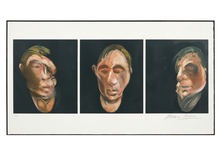Francis BACON (1909-1992) - Three Studies for a Self Portrait