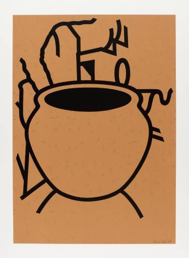 Patrick CAULFIELD - Print-Multiple - Fern Pot