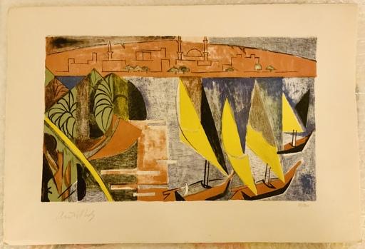 André LHOTE - Print-Multiple - Paisaje de Túnez