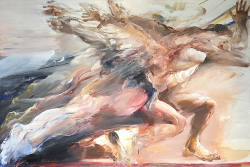 Ahmed SHAHABUDDIN - Painting - Running
