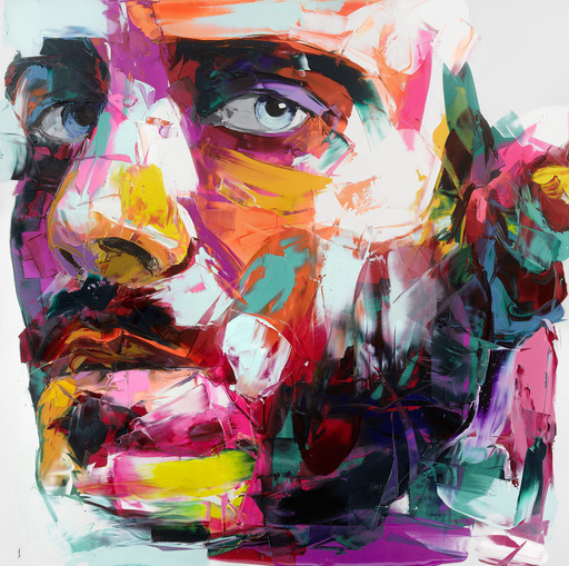 Françoise NIELLY - Painting - Michael