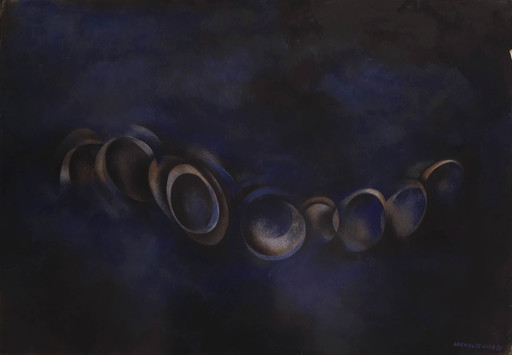 Norman Wilfred LEWIS - Pintura - Untitled