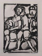 Georges ROUAULT - Grabado - Homme Conduisant me Autre,W. 340