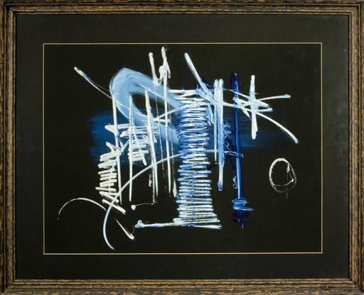 Georges MATHIEU - Peinture - Composition