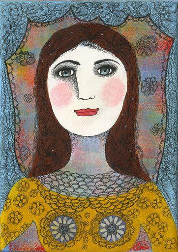 Claudine Marie Claire LOQUEN - Gemälde - Jane Austen