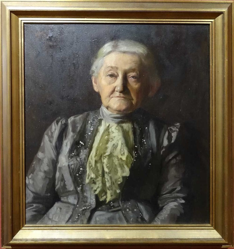 Gojmir Anton KOS - Painting - Stara Zenska