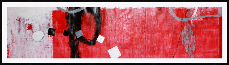 Kakhaber TATISHVILI - 绘画 - Red composition