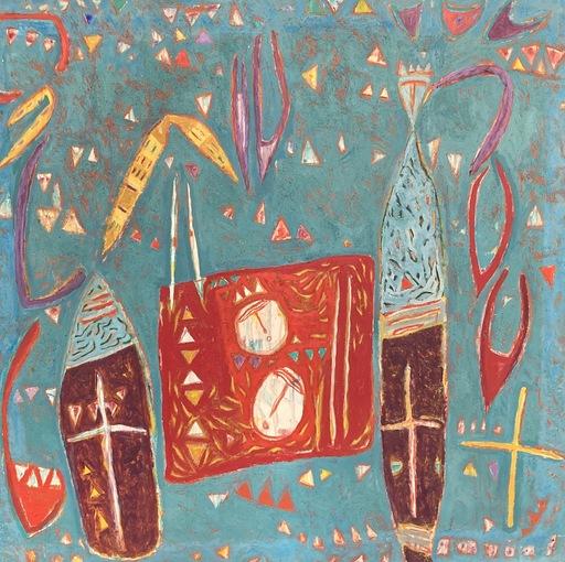 Alain PORTIER - Gemälde - Composition