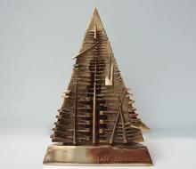 Arnaldo POMODORO (1926) - Piramide