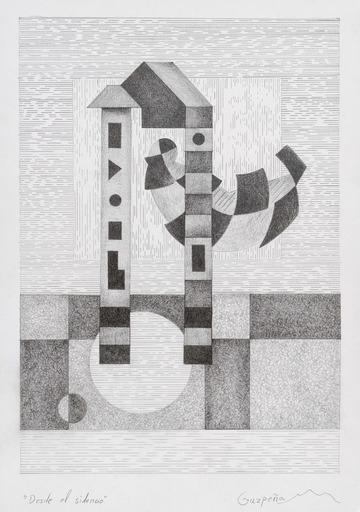 Enrique Rodriguez GUZPENA - Drawing-Watercolor - Desde el silencio